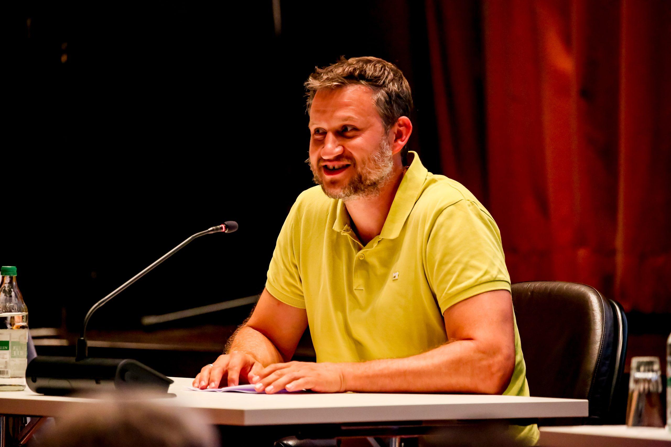 HBW Geschäftsführer und erster Gartenschaubotschafter Wolfgang Strobel