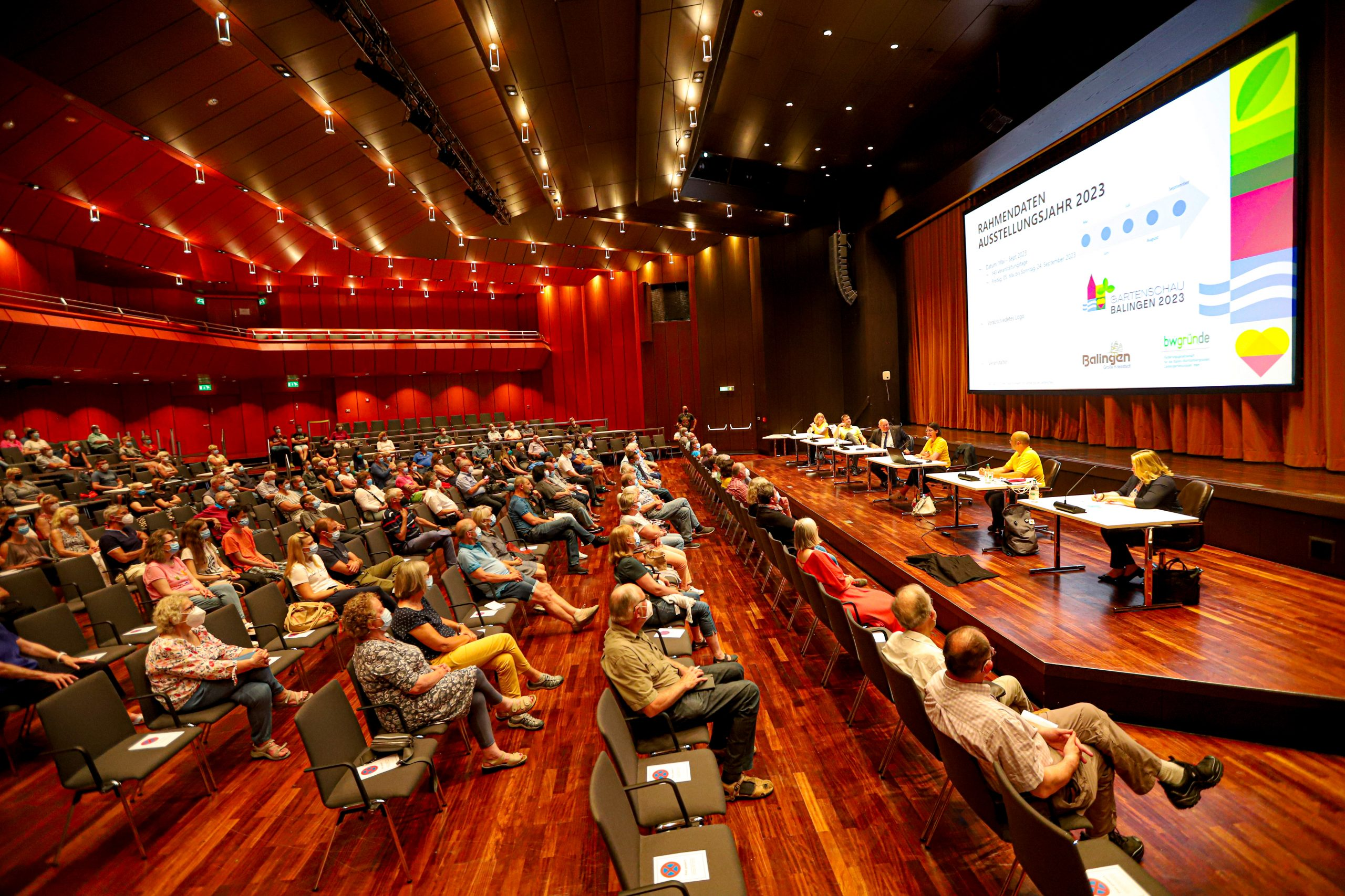 Erste Ehrenamts Informationsveranstaltung der Gartenschau 2023